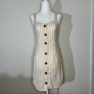 Abercrombie and Fitch Striped Dress small